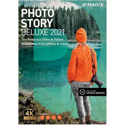 Magix Photostory Deluxe 2021 [Pc] (D/f/i) Physisch (Box)