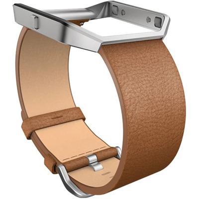 Fitbit Blaze Lederband Camel Large
