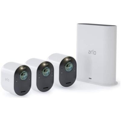 Arlo Ultra 4K UHD mit 3 Kameras Überwachungskamera