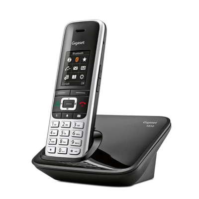 Gigaset S850 schwarz silber Festnetz Telefon