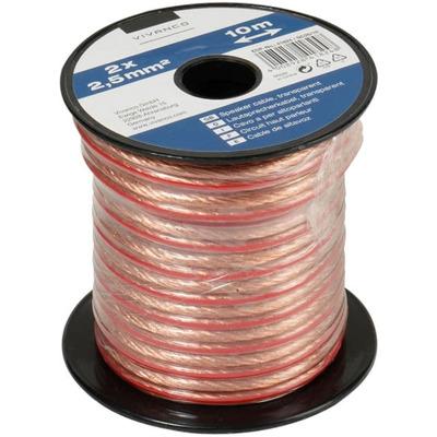Vivanco Lautsprecherkabel 2x 2.5 qmm (10m) Audio Kabel