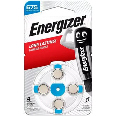 Energizer 675 (4Stk.) Hörgerätebatterie