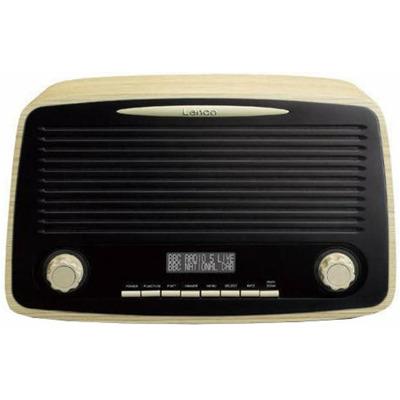 Lenco Dar-012 - Wood Dab+ Radio
