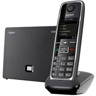 C530A IP schwarz VoIP Telefon
