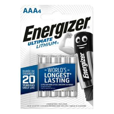 Energizer Lithium AAA / L92 (4Stk.) Batterie