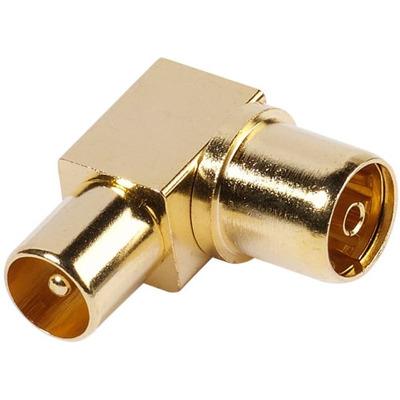 Vivanco 48/00 09G Koaxial - Winkeladapter