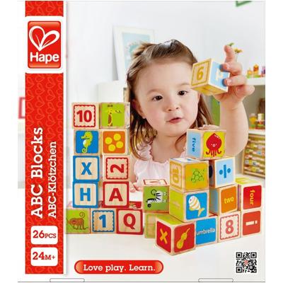 Hape Abc-Klötze Lernspiel