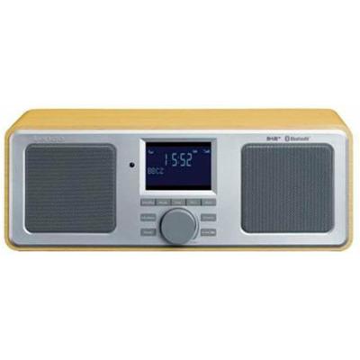 Lenco Dar-015 - Wood Dab+ Radio