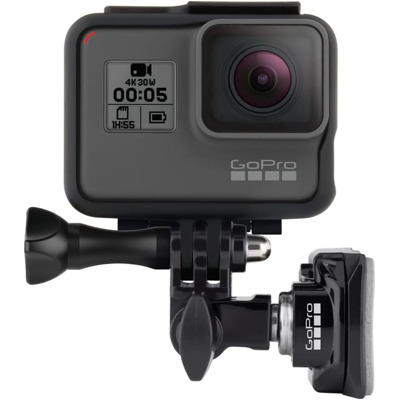 GoPro Front- und Seiten-Helmhalterung