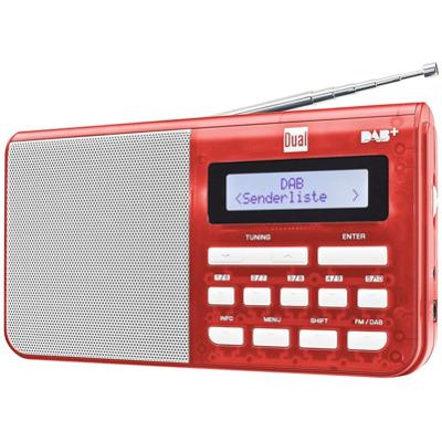 Dual DAB 4.1 T - Rot Dab+ Radio