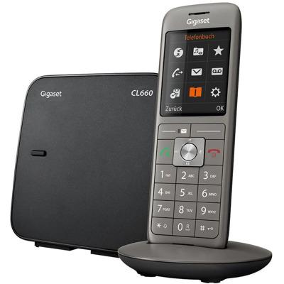 Gigaset Cl660 anthrazit Festnetz Telefon