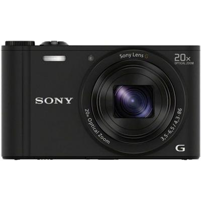 Sony Dsc-Wx350 Cybershot schwarz Kompaktkamera