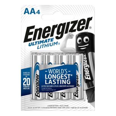 Energizer Lithium AA / L91 (4Stk). Batterie