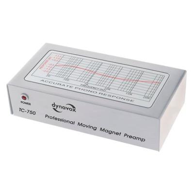 Dynavox TC 750 - Silber Vorverstärker