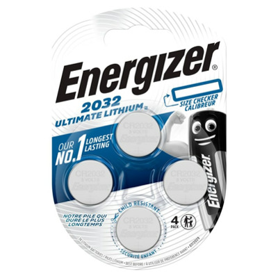 Energizer Ultimate Lithium Cr2032 4 Stk Knopfzelle