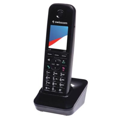 Swisscom Aton Cl200 Zusatzmobilteil schwarz Festnetz Telefon