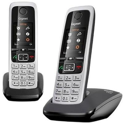 Gigaset C430 Duo schwarz Festnetz Telefon