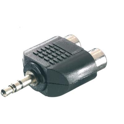 Vivanco Adapter 3 5mm Klinke - Stereo Cinch Audio