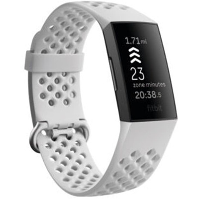 Fitbit Charge 4 Sportarmand Frost L Sportarmband