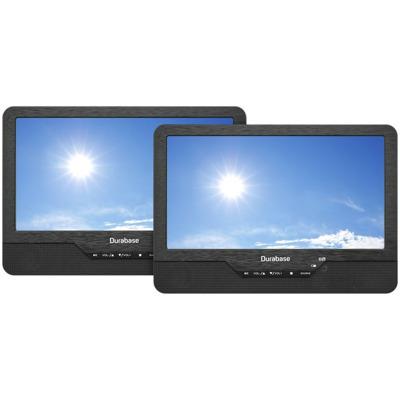 Durabase Twin 2.0 Portabler DVD Player Schwarz