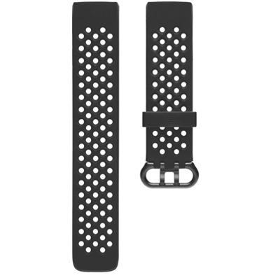 Fitbit Charge 3/4 Sportarmband Schwarz Large