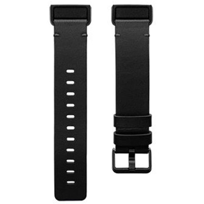 Fitbit Charge 4 Lederarmband Black S