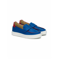 Montelpare Tradition slip-on loafers - Blue