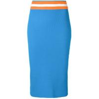 Calvin Klein midi pencil skirt - Blue
