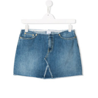 Dondup Kids faded mini skirt - Blue