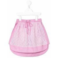 Valmax Kids layered skirt - Pink