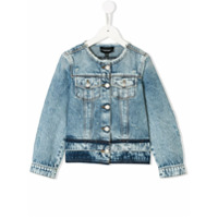 Emporio Armani Kids denim jacket - Blue