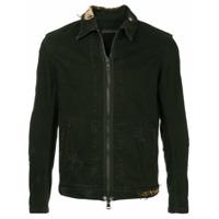 Roarguns distressed denim jacket - Black
