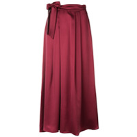 Forte Forte high waisted maxi skirt - Red