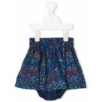 Stella Mccartney Kids sky-print skirt - Blue