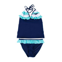 Duskii Girl Darcy tankini set - Blue
