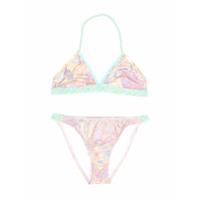 Little Marc Jacobs braided bikini set - Multicolour