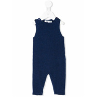 Knot Urchin knitted dungarees - Blue