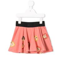 Mini Rodini monkey print mini skirt - Pink