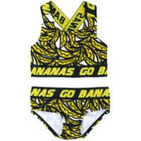 Stella Mccartney Kids Go Bananas bikini set - Multicolour