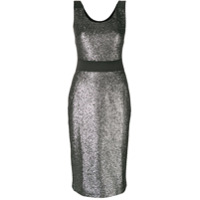 Boutique Moschino sequin embellished dress - Metallic