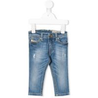 Diesel Kids stonewashed skinny jeans - Blue