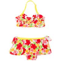 Miki House floral print bikini - Multicolour
