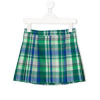 Il Gufo checked skirt - Green