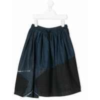 Diesel Kids panelled denim skirt - Blue