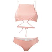 Ack lurex bikini - Pink
