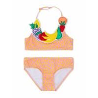 Stella Mccartney Kids speckled bikini - Pink