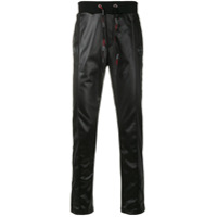 Plein Sport Turn Up track pants - Black