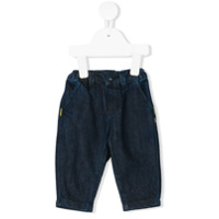 Knot elasticated relaxed fit jeans - Blue