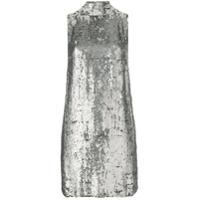 P.A.R.O.S.H. sequin embellished dress - Grey