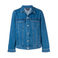 A.P.C. slim-fit denim jacket - Blue